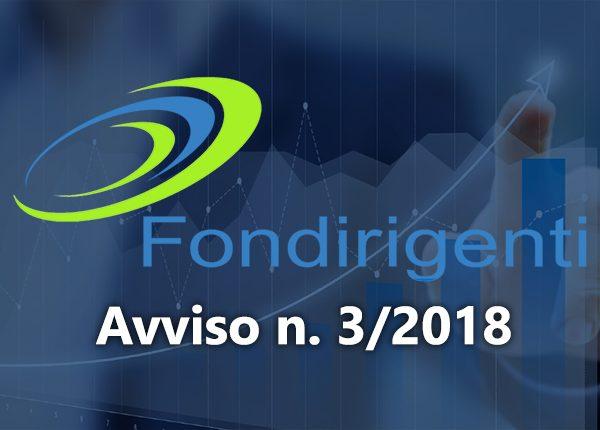 Pubblicato Avviso FONDIRIGENTI 3/2018